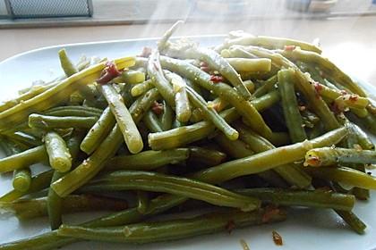 Grüne Bohnen mit Speck 13