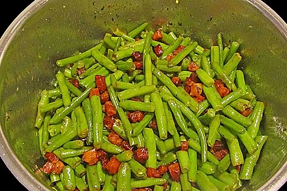 Grüne Bohnen mit Speck 16