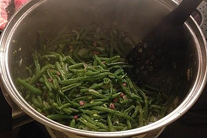 Grüne Bohnen mit Speck 18
