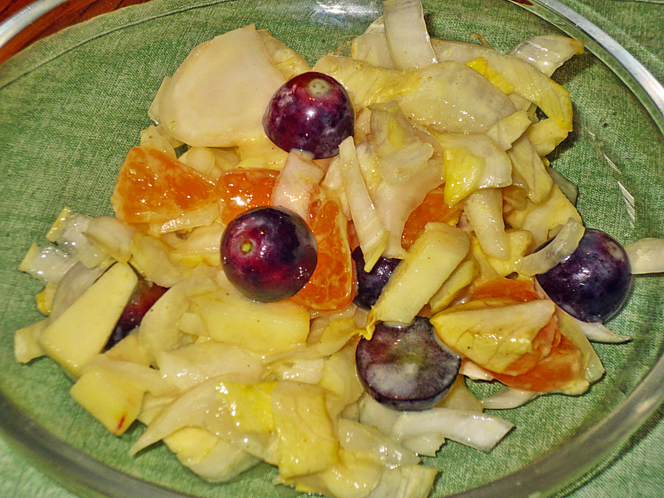 chicoree salat fruchtig scharf rezept mit bild von dbartel. Black Bedroom Furniture Sets. Home Design Ideas