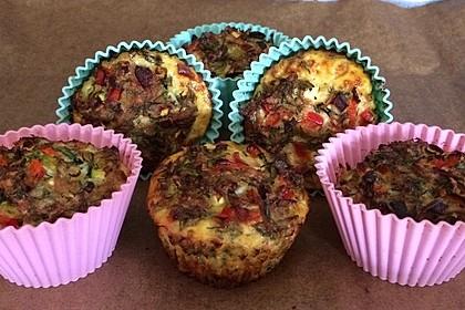 Low Carb Gemüse-Thunfisch-Muffins 7