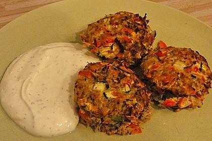 Low Carb Gemüse-Thunfisch-Muffins 17