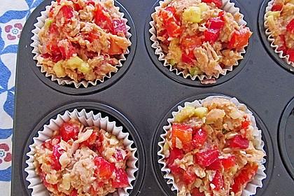 Low Carb Gemüse-Thunfisch-Muffins 6