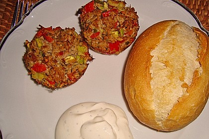 Low Carb Gemüse-Thunfisch-Muffins 9