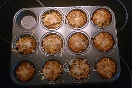 Low Carb Gemüse-Thunfisch-Muffins 24