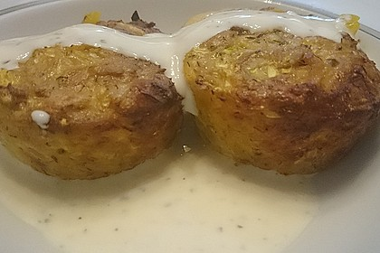 Low Carb Gemüse-Thunfisch-Muffins 31