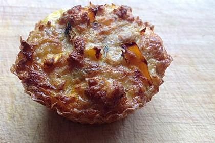 Low Carb Gemüse-Thunfisch-Muffins 4