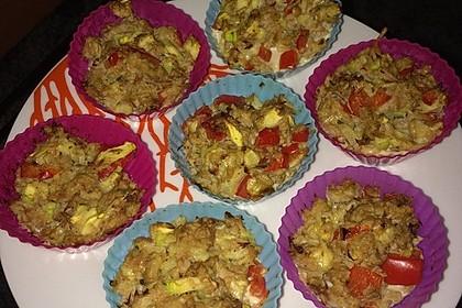 Low Carb Gemüse-Thunfisch-Muffins 30