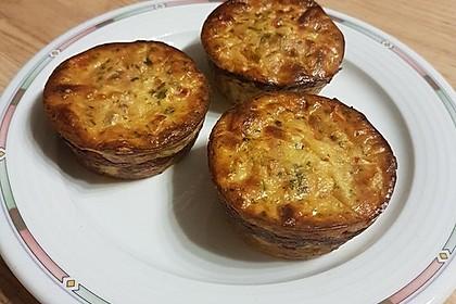 Low Carb Gemüse-Thunfisch-Muffins 19