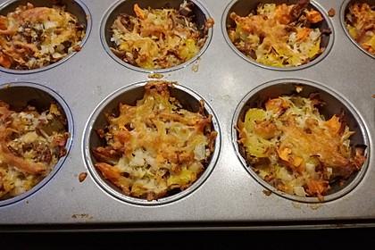 Low Carb Gemüse-Thunfisch-Muffins 13