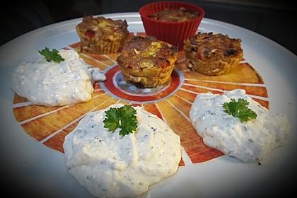 Low Carb Gemüse-Thunfisch-Muffins 18