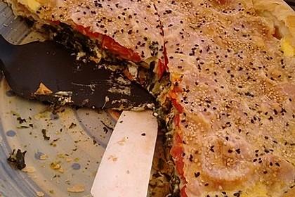 Spinat-Tomate-Feta-Börek vom Blech 16