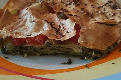 Spinat-Tomate-Feta-Börek vom Blech 19