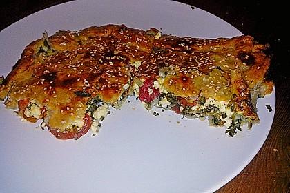 Spinat-Tomate-Feta-Börek vom Blech 10