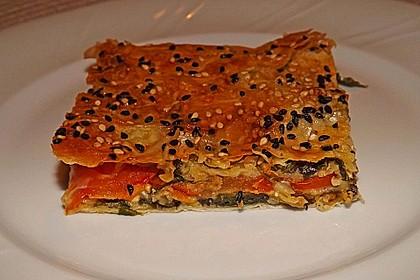 Spinat-Tomate-Feta-Börek vom Blech 6