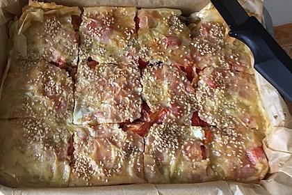 Spinat-Tomate-Feta-Börek vom Blech 11