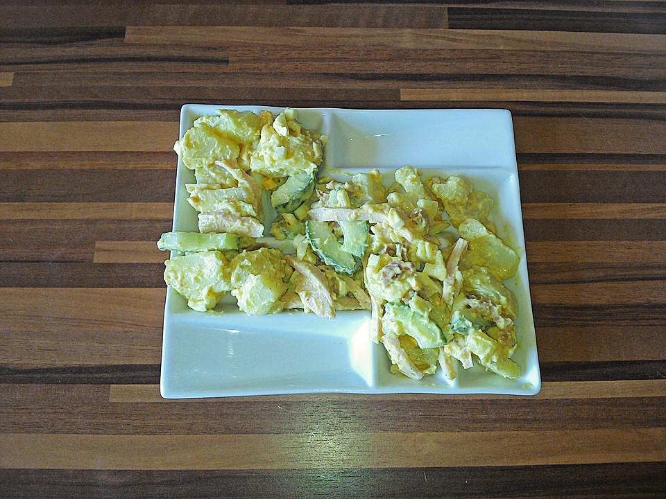 kartoffel gurkensalat mit mayonnaise von daswolti. Black Bedroom Furniture Sets. Home Design Ideas