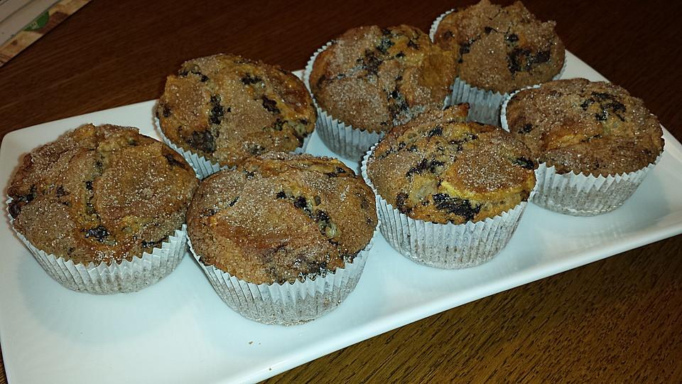 apfel zimt muffins rezept mit bild von ichiichan. Black Bedroom Furniture Sets. Home Design Ideas