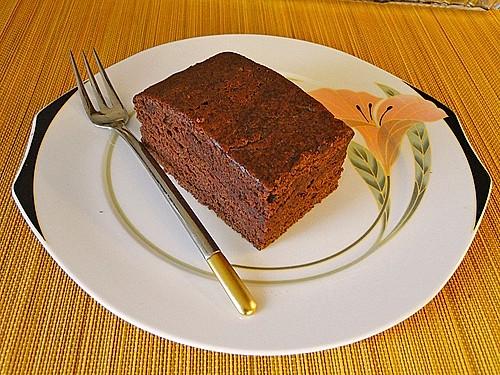 brownies ohne zus tzliches fett rezept mit bild. Black Bedroom Furniture Sets. Home Design Ideas