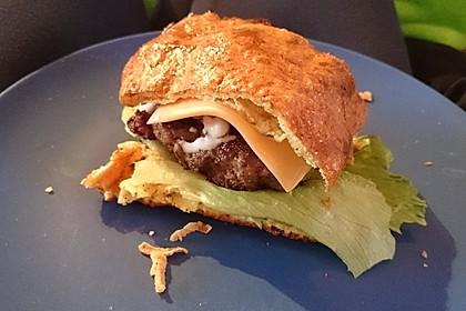Low Carb Burgerbrötchen 'Oopsies' 85