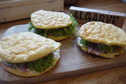 Low Carb Burgerbrötchen 'Oopsies' 93