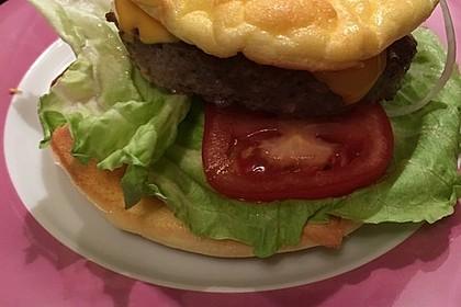 Low Carb Burgerbrötchen 'Oopsies' 95