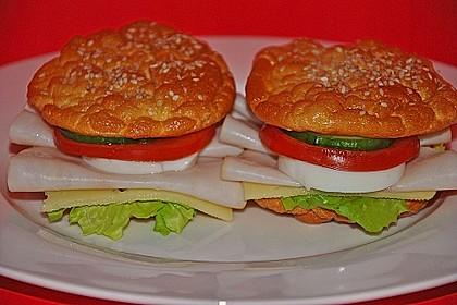 Low Carb Burgerbrötchen 'Oopsies' 18