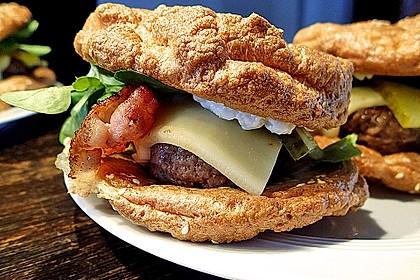 Low Carb Burgerbrötchen 'Oopsies' 12
