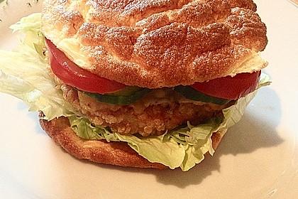 Low Carb Burgerbrötchen 'Oopsies' 31