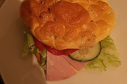 Low Carb Burgerbrötchen 'Oopsies' 23