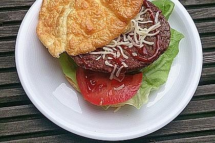Low Carb Burgerbrötchen 'Oopsies' 11