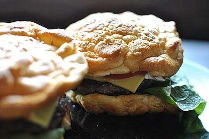 Low Carb Burgerbrötchen 'Oopsies' 10