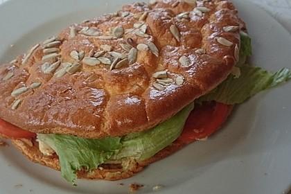 Low Carb Burgerbrötchen 'Oopsies' 21