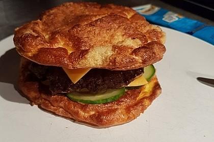 Low Carb Burgerbrötchen 'Oopsies' 9