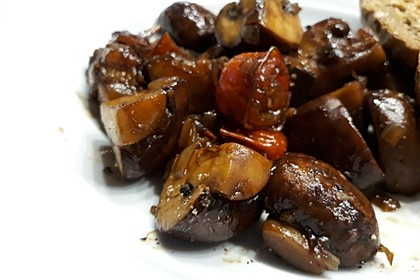 Champignons in Balsamico 10