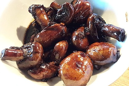 Champignons in Balsamico 17