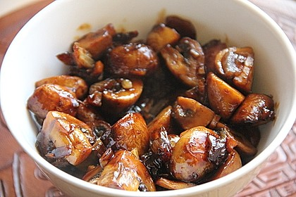 Champignons in Balsamico 4