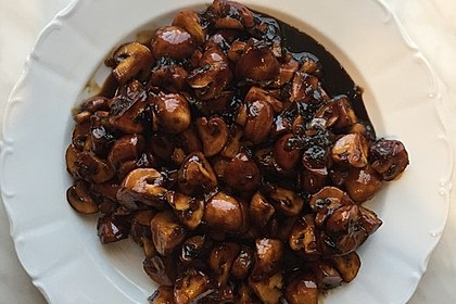 Champignons in Balsamico