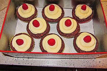 Schoko-Nuss Cupcakes