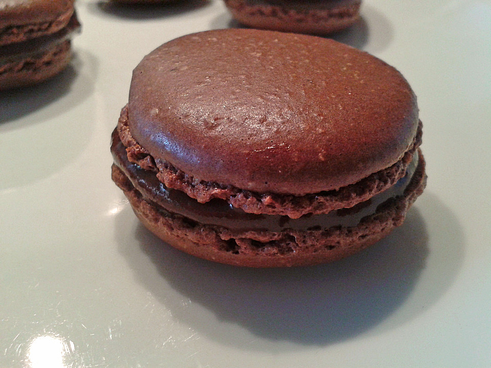 schoko nutella macarons von schokofreak xd. Black Bedroom Furniture Sets. Home Design Ideas