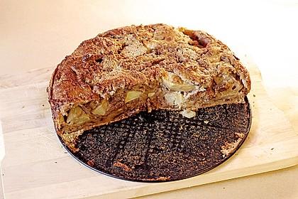 Apfelkuchen aus altem Brot 6