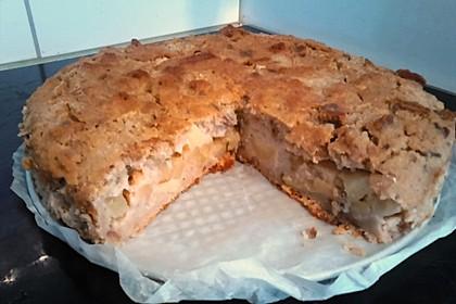 Apfelkuchen aus altem Brot 8