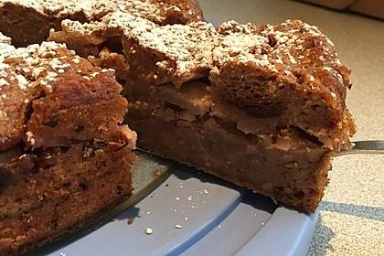 Apfelkuchen aus altem Brot 5
