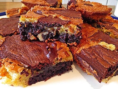 kuhflecken brownies rezept mit bild von jennifer melanie. Black Bedroom Furniture Sets. Home Design Ideas