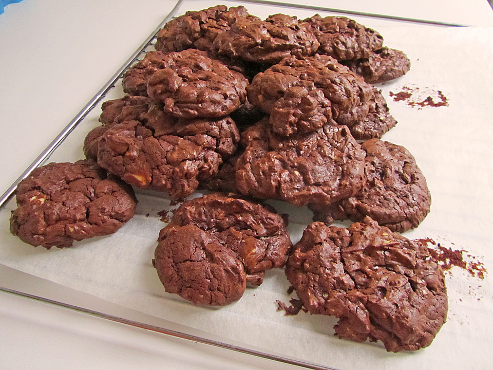 Chocolate Fudge Cookies (Rezept mit Bild) von Haribo89 | Chefkoch.de