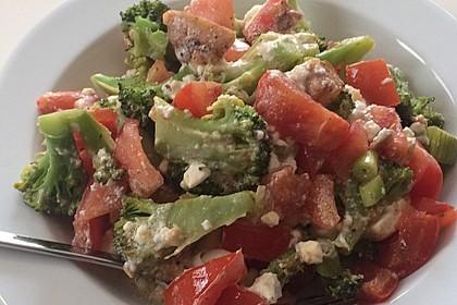 Brokkoli-Tomaten-Feta-Auflauf 4