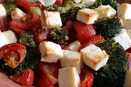 Brokkoli-Tomaten-Feta-Auflauf 3