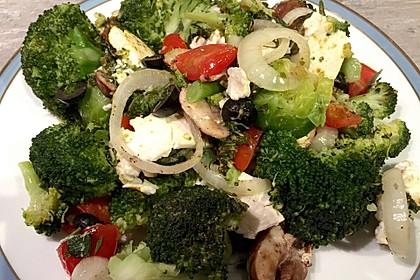 Brokkoli-Tomaten-Feta-Auflauf 1
