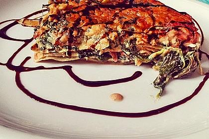Cashew-Spinat-Lasagne 1
