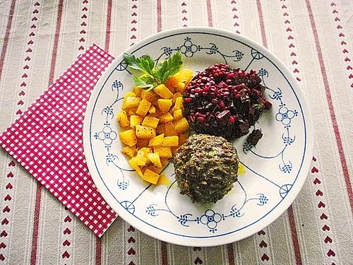 falsches berglinsen rote bete risotto mit k rbisw rfeln rezept mit bild. Black Bedroom Furniture Sets. Home Design Ideas